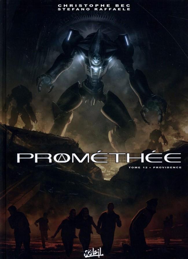 Couverture de Prométhée -12- Providence