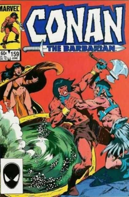 Couverture de Conan the Barbarian Vol 1 (Marvel - 1970) -159- Cauldron of the doomed!