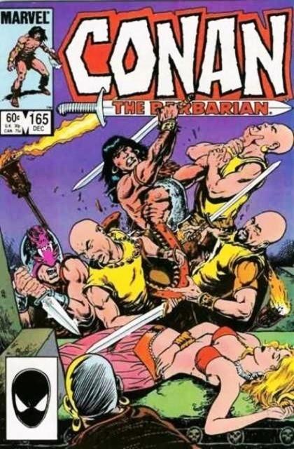Couverture de Conan the Barbarian Vol 1 (Marvel - 1970) -165- Temple of the dragon