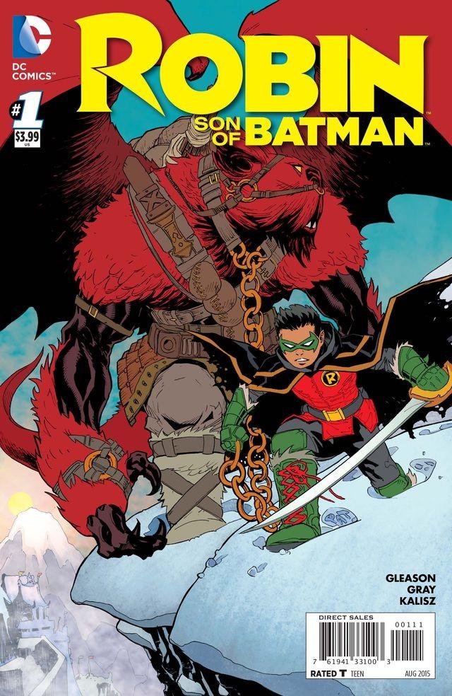 Couverture de Robin: Son of Batman (2015) -1- Year Of Blood - Part One