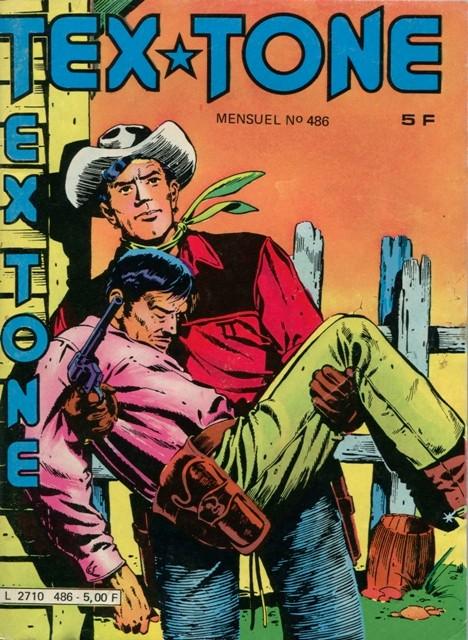 Couverture de Tex-Tone -486- Comédie fantasque