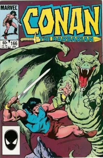 Couverture de Conan the Barbarian Vol 1 (Marvel - 1970) -166- Blood of the titan!