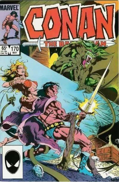 Couverture de Conan the Barbarian Vol 1 (Marvel - 1970) -170- Dominion of the dead!