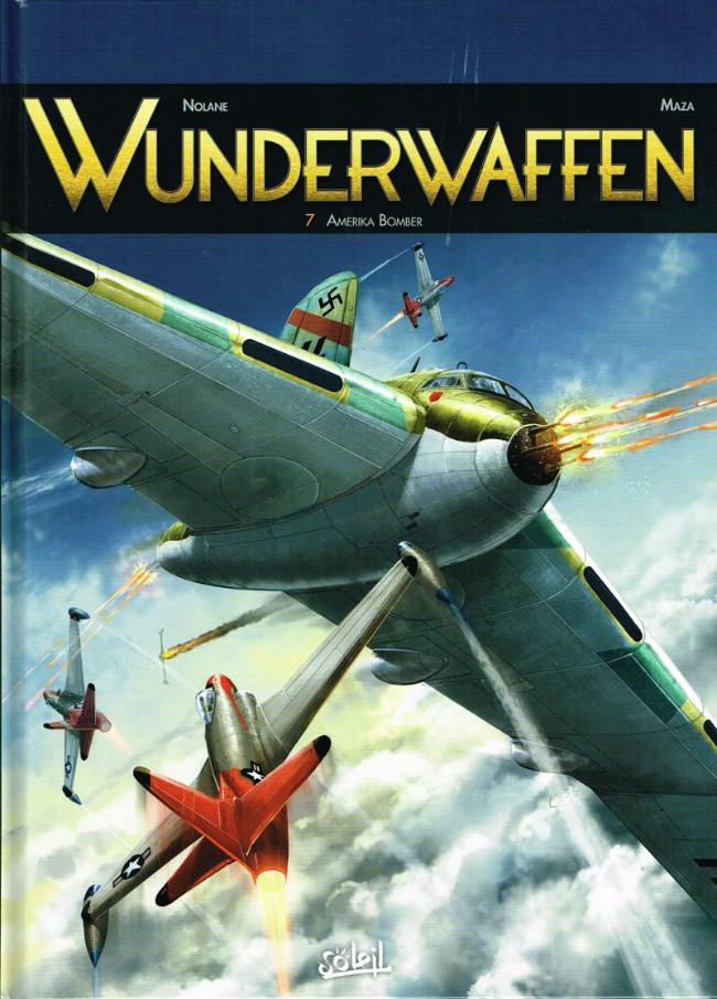 Couverture de Wunderwaffen -7- Amerika Bomber