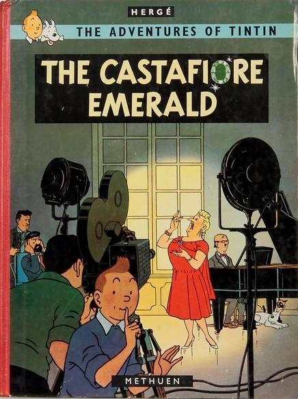 Couverture de Tintin (The Adventures of) -21- The Castafiore emerald