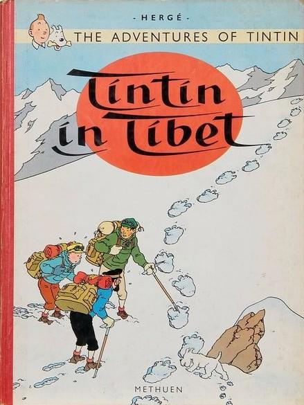 Couverture de Tintin (The Adventures of) -20- Tintin in Tibet