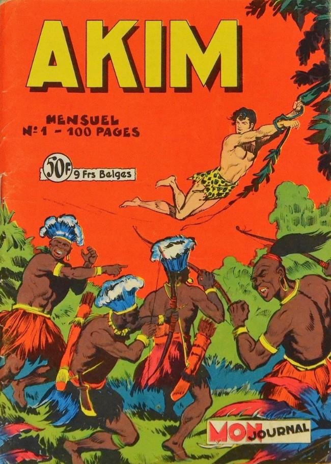 Couverture de Akim (1re série) -1- Akim, fils de la jungle