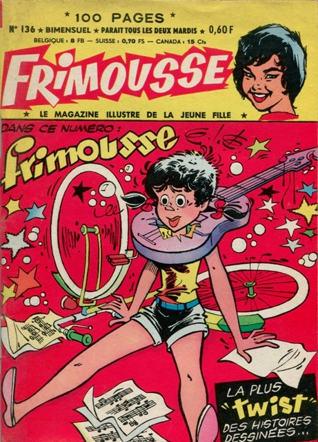 Couverture de Frimousse et Frimousse-Capucine -136- La fille de la jungle