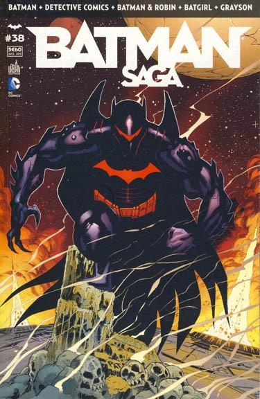 Couverture de Batman Saga -38- Numéro 38