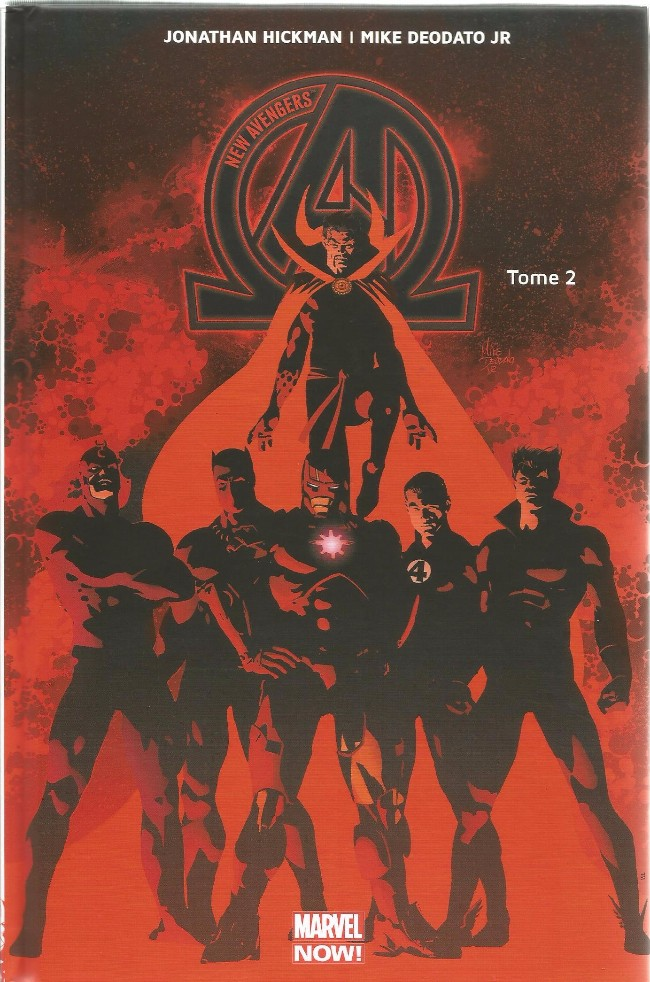 Couverture de New Avengers (The) (Marvel Now!) -2- Infinity