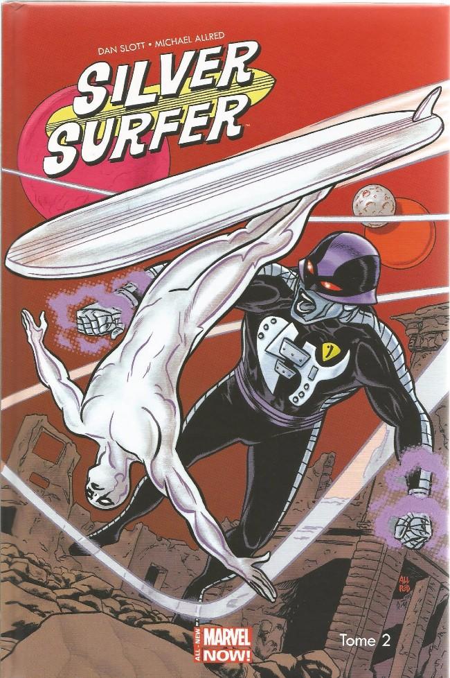 Couverture de Silver Surfer (100% Marvel - 2015) -2- Le Refuge