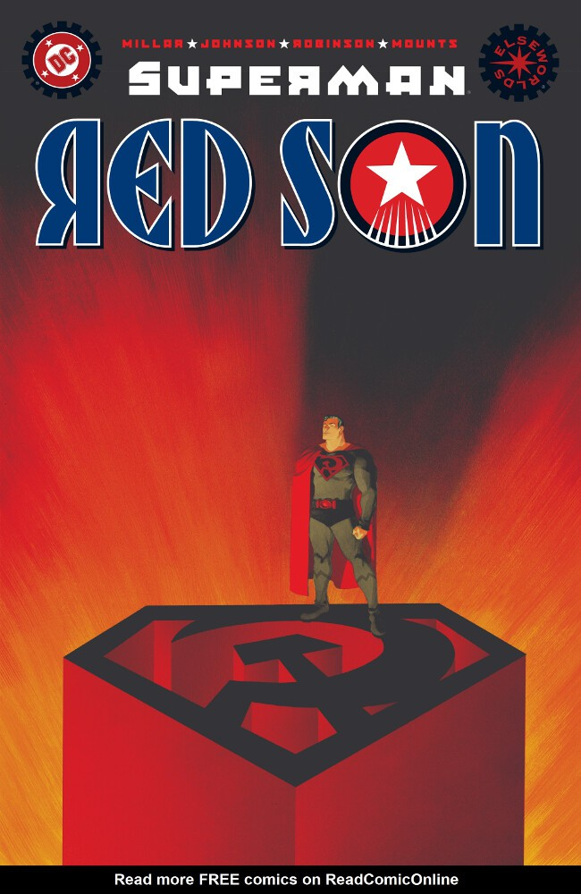 Couverture de Superman: Red Son (2003) -1- Red Son Rising