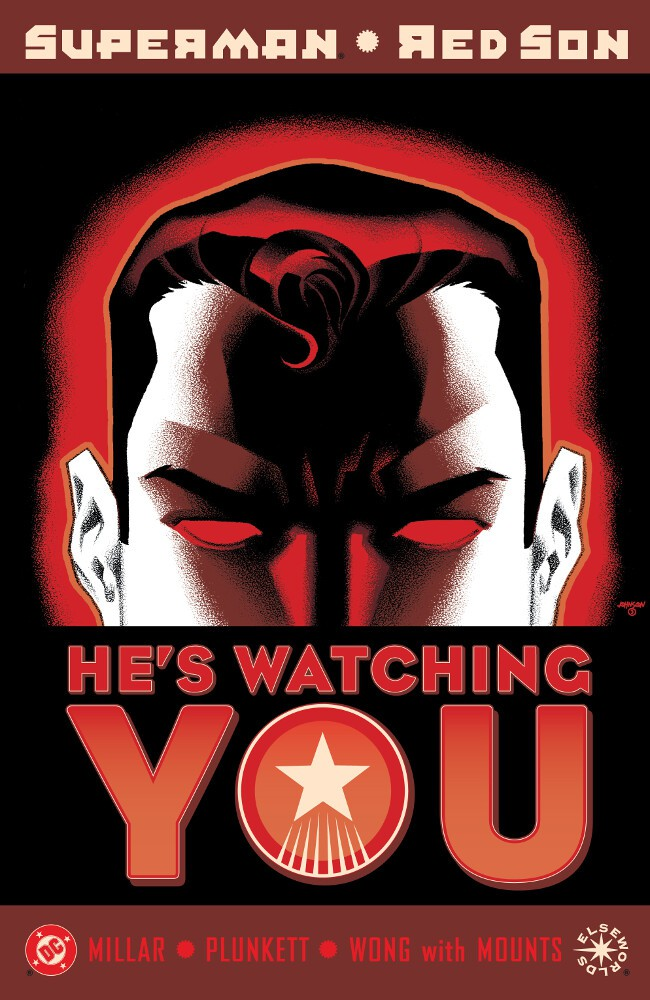 Couverture de Superman: Red Son (2003) -3- Red Son Setting