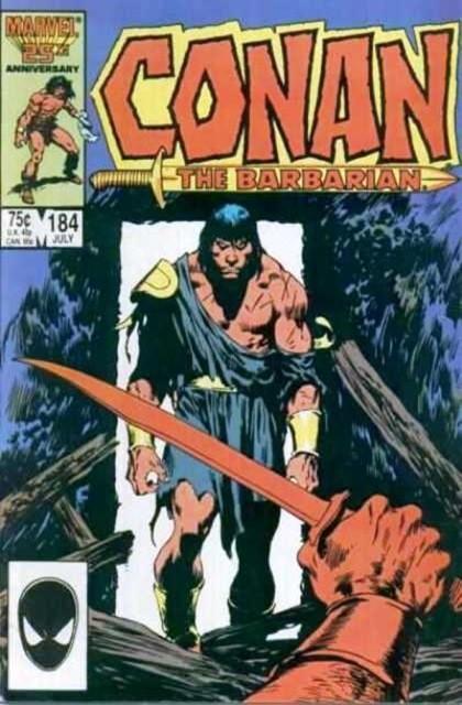 Couverture de Conan the Barbarian Vol 1 (Marvel - 1970) -184- Swords