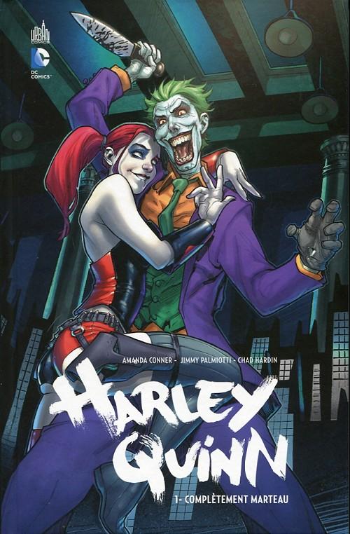 Couverture de Harley Quinn -1- Complètement marteau