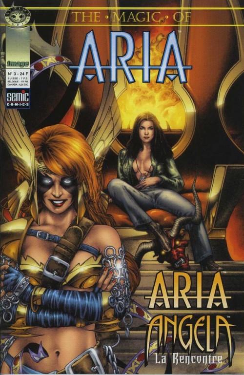 Couverture de Magic of Aria (The) -3- Aria/Angela US 1-2