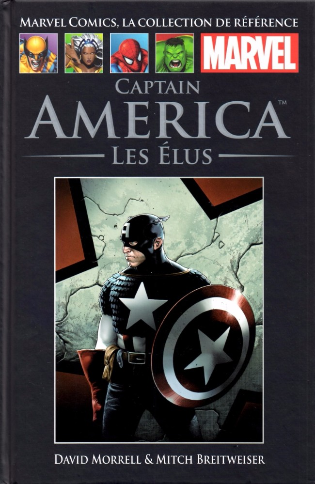 Couverture de Marvel Comics - La collection (Hachette) -3652- Captain America - Les Élus