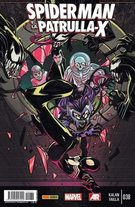 Couverture de Lobezno y la Patrulla-X -38- Spiderman y La Patrulla-X. Capítulo 5