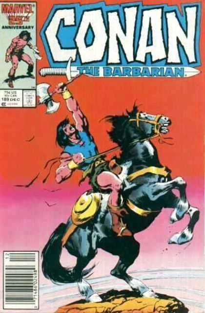 Couverture de Conan the Barbarian Vol 1 (Marvel - 1970) -189- Rites of inquisition