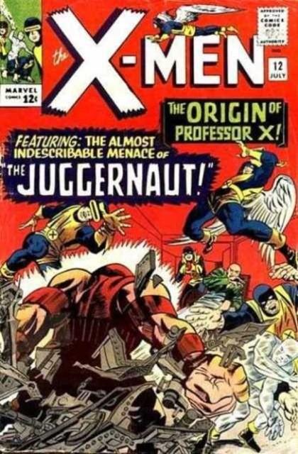 Couverture de Uncanny X-Men (The) (1963) -12- The origin of professor x