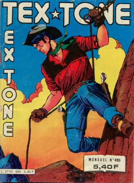 Couverture de Tex-Tone -495- Un jeu dangereux