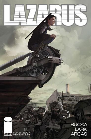 Couverture de Lazarus (2013) -17- Poison part one