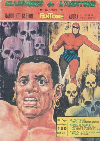 Couverture de Les héros de l'aventure (Classiques de l'aventure, Puis) -16- Le fantôme : Kunz le contrebandier