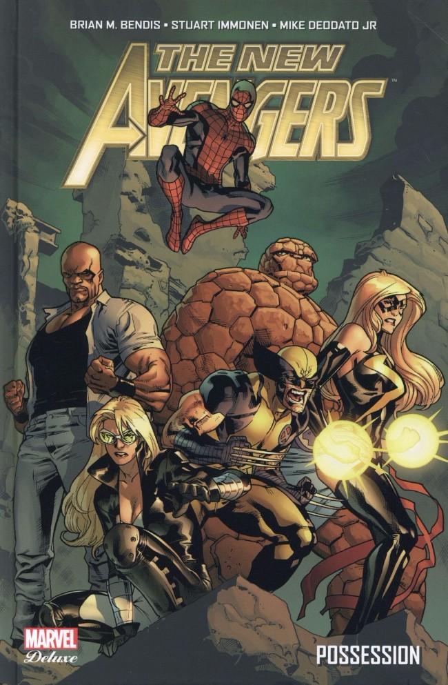 Couverture de New Avengers (The) (Marvel Deluxe - 2015) -1- Possession