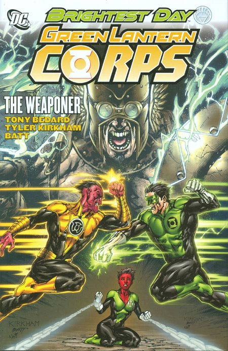 Couverture de Green Lantern Corps (2006) -INT08- The weaponer