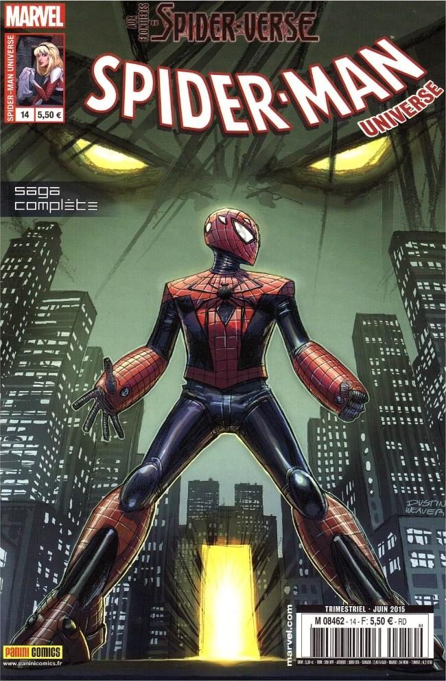 Couverture de Spider-Man Universe (Marvel France - 1re Série) -14- Aux frontières du spider-verse