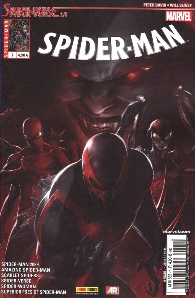 Spiderman V5 Tome 07 Panini Comics French