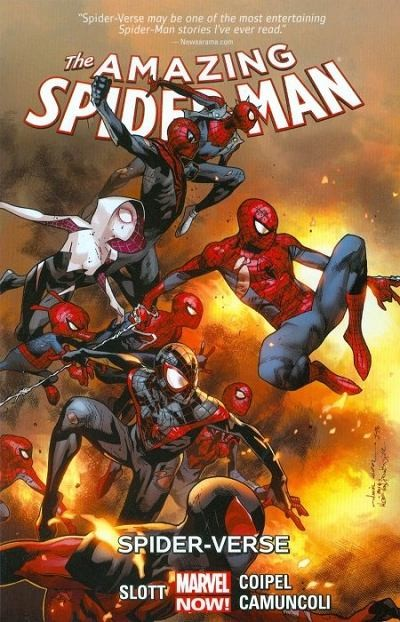 Couverture de Amazing Spider-Man (The) (2014) -INT03- Spider-verse