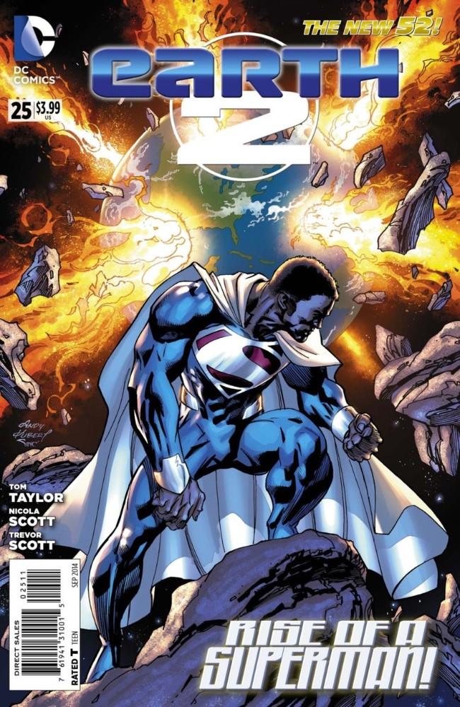 Couverture de Earth 2 (2012) -25- The Kryptonian, Part Five