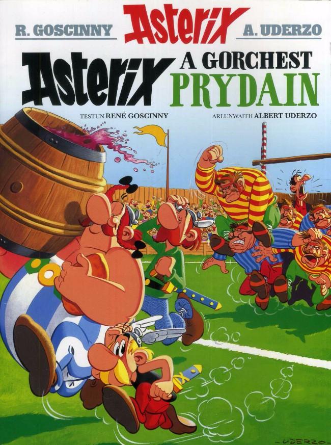 Couverture de Astérix (en langues étrangères) -9Gallois- Asterix a Gorchest prydain