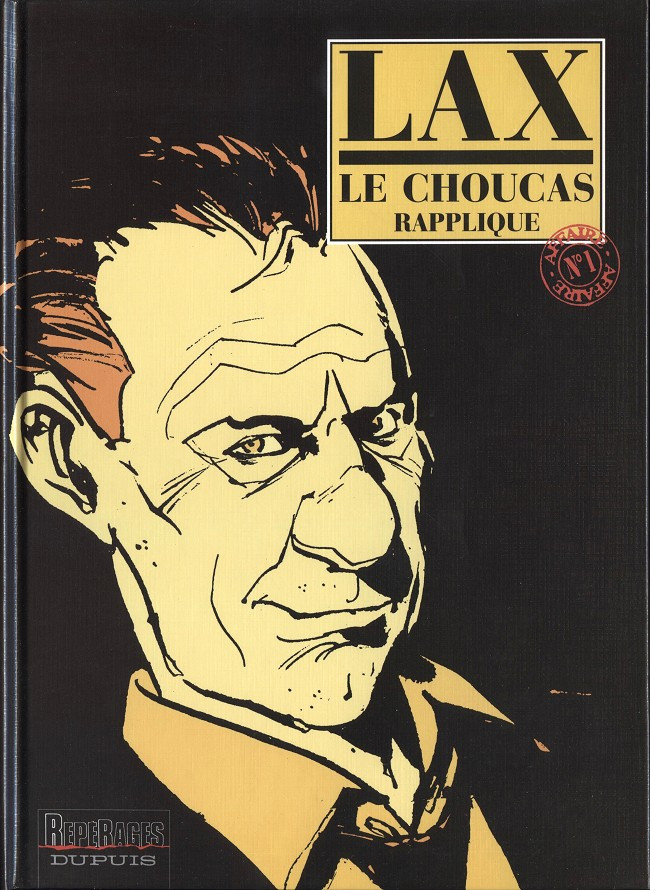 Couverture de Le choucas -1- Le Choucas rapplique