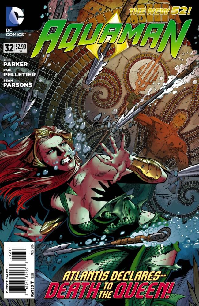 Couverture de Aquaman (2011) -32- It Lives