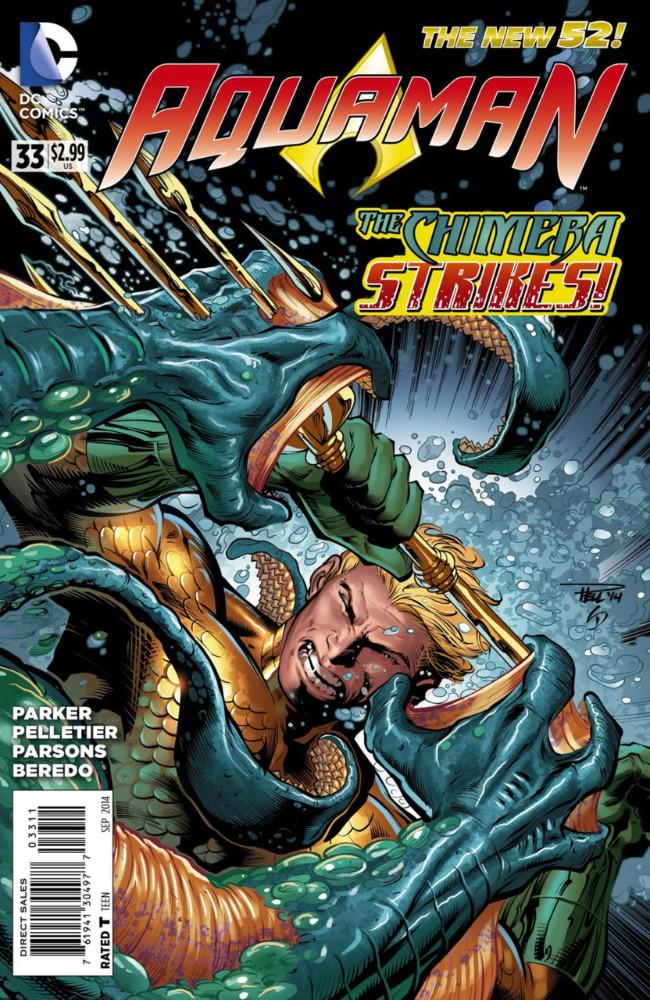 Couverture de Aquaman (2011) -33- Meet Your Maker