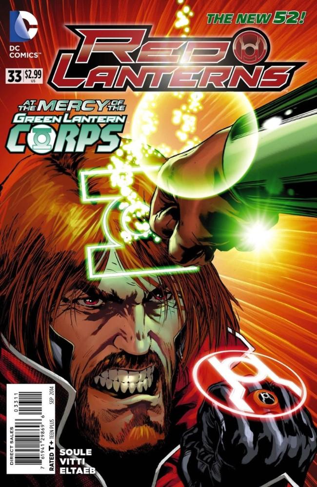 Couverture de Red Lanterns (2011) -33- Atrocities, Part 2 of 4: Old Battles