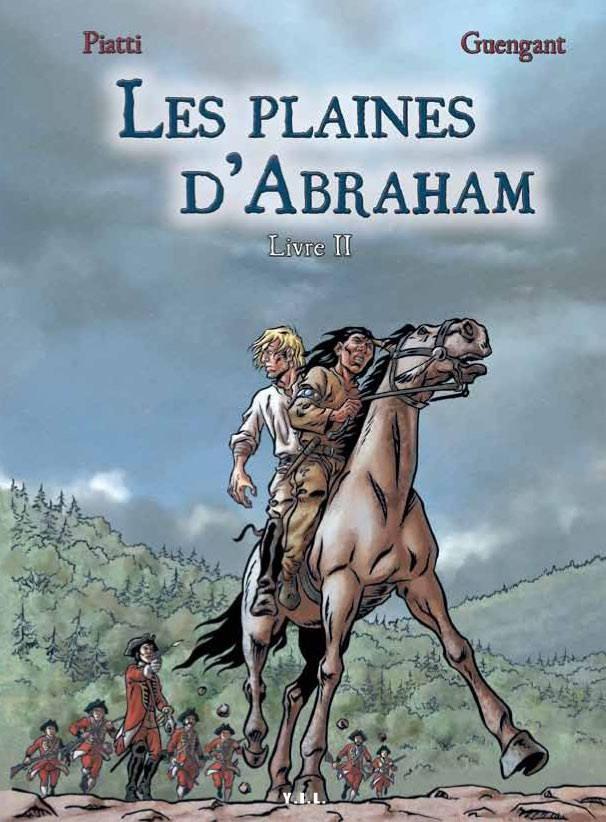 Couverture de Les plaines d'Abraham -2- Livre II