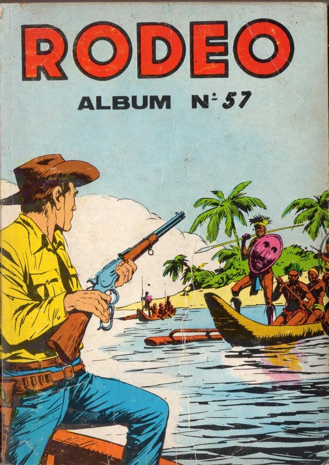 Couverture de Rodéo -Rec057- Album N°57 (du n°295 au n°298)