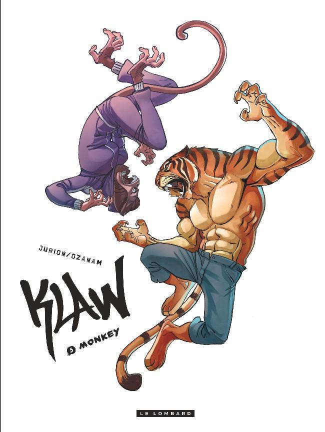 Couverture de Klaw -5- Monkey