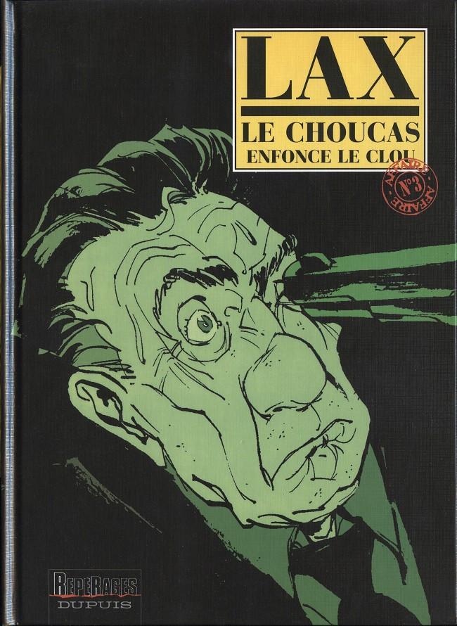Couverture de Le choucas -3- Le Choucas enfonce le clou