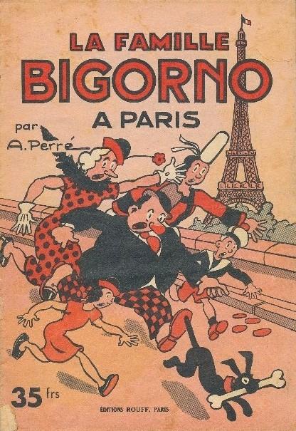 Couverture de La famille Bigorno -2- La famille Bigorno à Paris