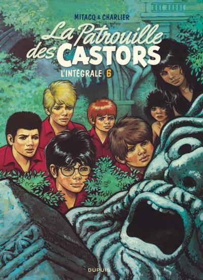 Couverture de La patrouille des Castors -INT6- L'intégrale 6 (1978-1983)