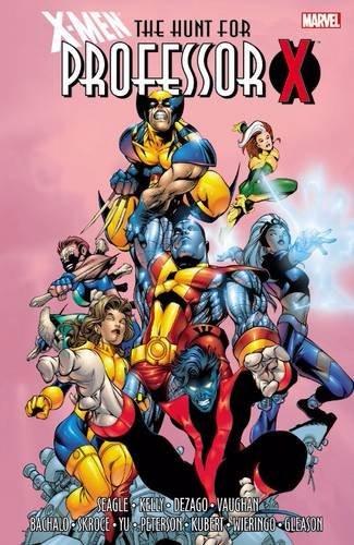 Couverture de X-Men (TPB) -INT- X-Men: The Hunt for Professor X