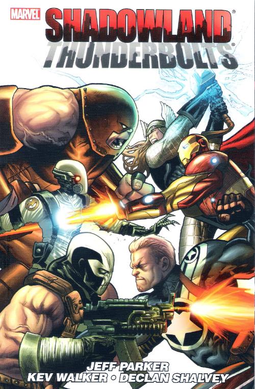 Couverture de Thunderbolts Vol.1 (Marvel Comics - 1997) -INT08- Shadowland