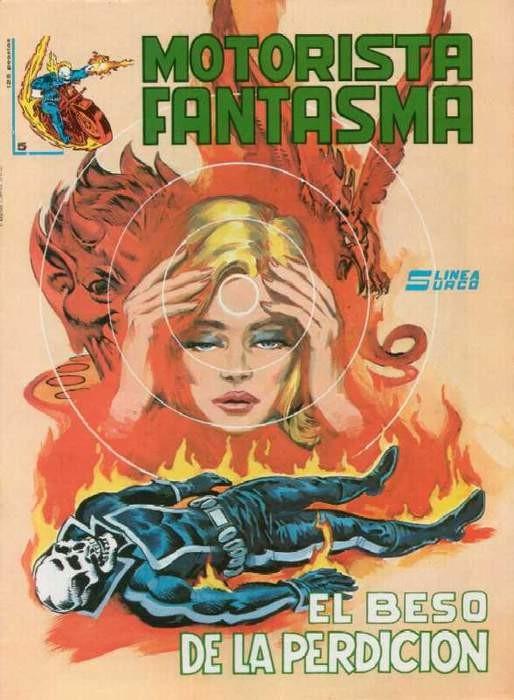 Couverture de Motorista Fantasma Vol.1 -5- El beso de la perdición