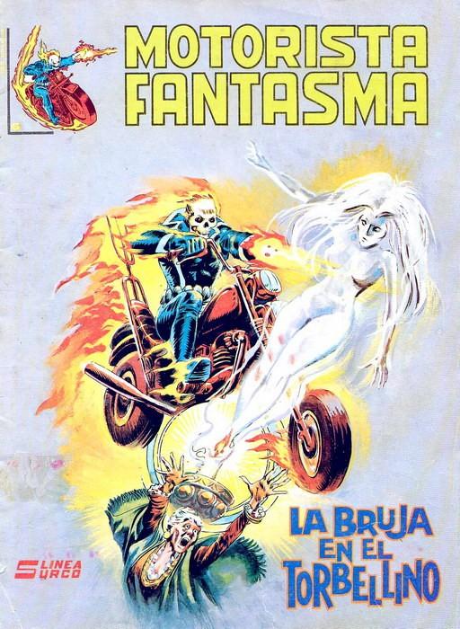 Couverture de Motorista Fantasma Vol.1 -6- La bruja en el torbellino