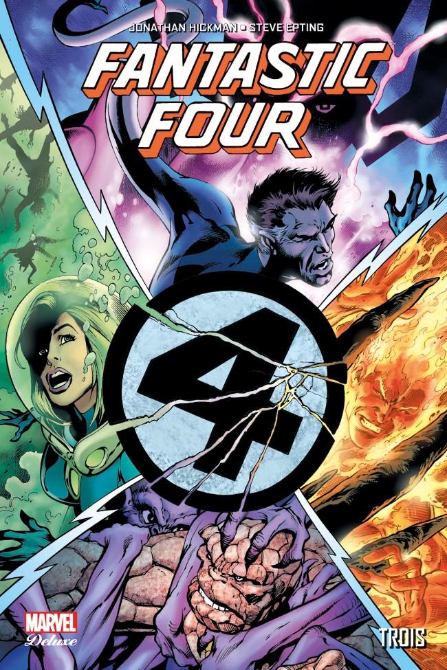 Couverture de Fantastic Four (Vol.2) (Marvel Deluxe) -2- Trois