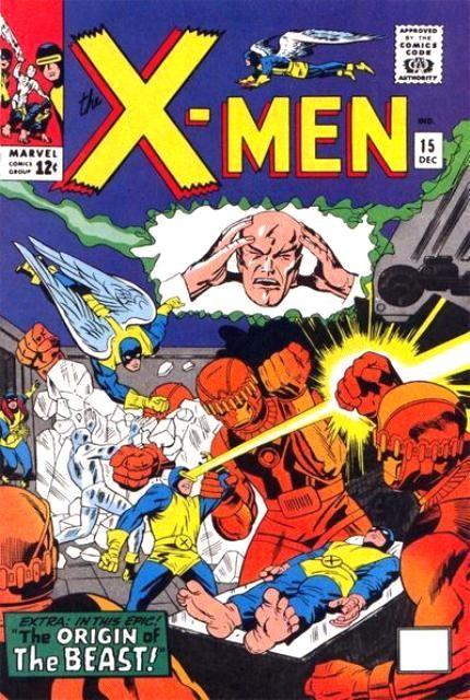 Couverture de Uncanny X-Men (The) (Marvel comics - 1963) -15- Prisoners of the mysterious master mold!